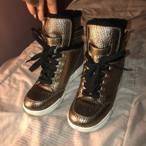 Marc jacob wedge heel sneakers